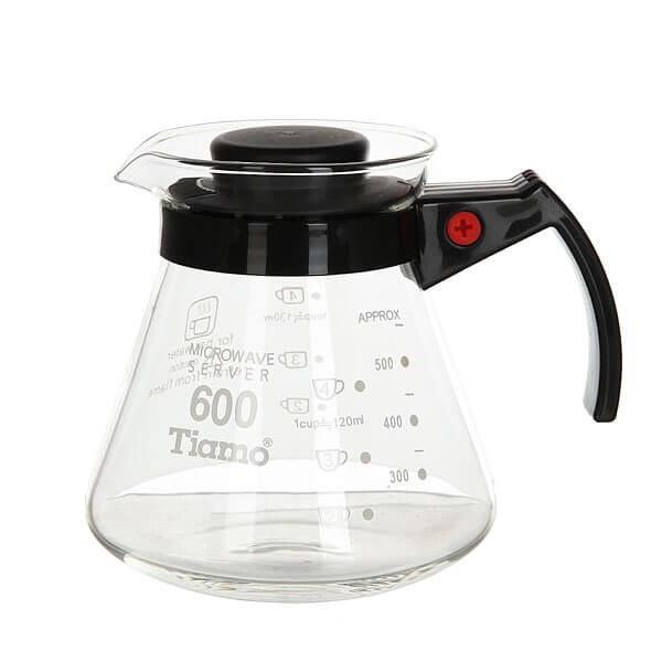 Чайник Tiamo Сервировочный Hg2305 0.65л Clear