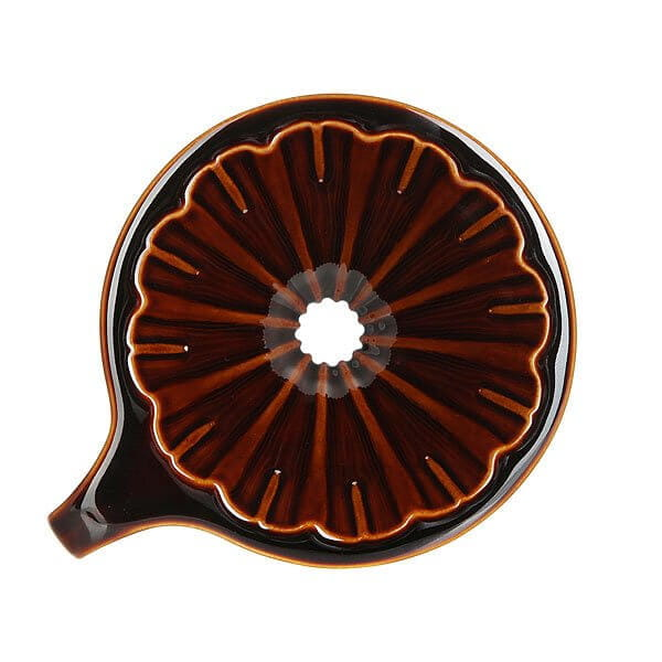 Воронка Tiamo Hg5536br Керамическая Коричневая С Фильтрами
