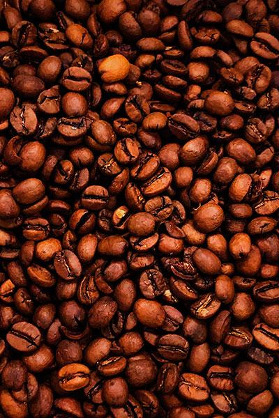 """Вид зерен Свежеобжаренный кофе """"Italian Blend"""""""