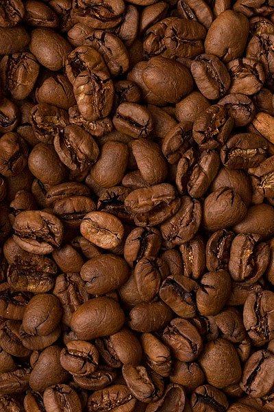 "Вид зерен Свежеобжаренный кофе ""Бразилия Желтый  Марагоджип"""