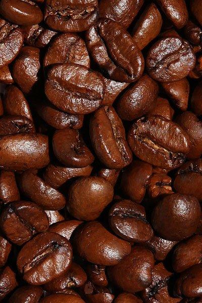 """Вид зерен Свежеобжаренный кофе """"Гавайский Орех"""""""
