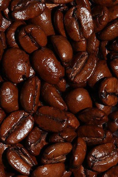 """Вид зерен Свежеобжаренный кофе """"Сливочная помадка"""""""