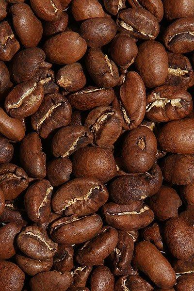 """Вид зерен Свежеобжаренный кофе """"Эфиопия Лимму Гера"""""""