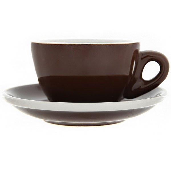 Набор Кофейных Пар Tiamo Для Эспрессо 80мл Hg0858br Коричневого Цвета
