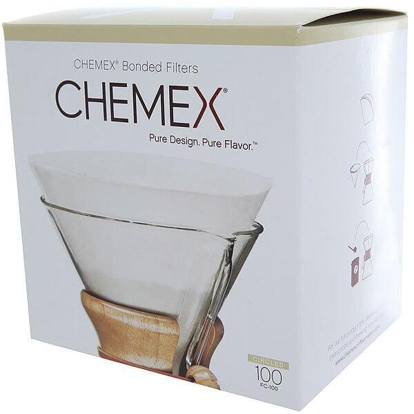 Фильтры бумажные круглые Chemex FC-100