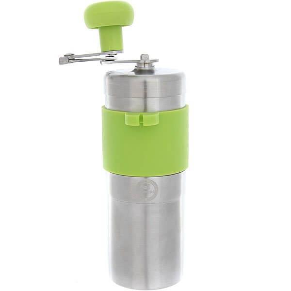 Кофемолка Tiamo Hg6171eg Металлический/Зеленый