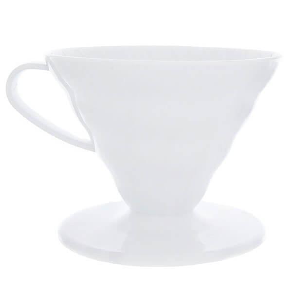 Воронка пластиковая Hario Vd-02w Белая