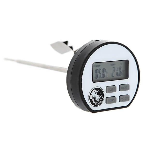 Термометр Rhinowares Цифровой Черный