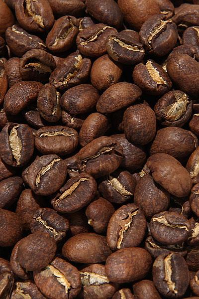 """Вид зерен Свежеобжаренный кофе """"Эфиопия Конга"""""""