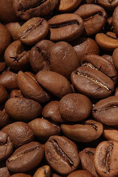 """Вид зерен Свежеобжаренный кофе """"Колумбия Антьокия Финка Сан-Паскуаль"""""""