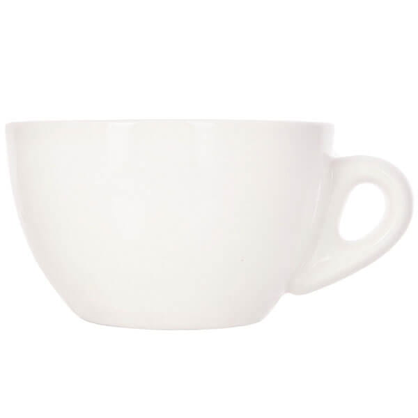 Набор из 5 кофейных пар белого цвета для латте/каппучино 180мл HG0854W