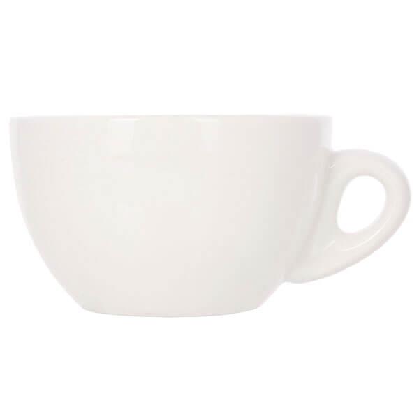 Набор из 5 кофейных пар белого цвета для латте/каппучино 320мл HG0855W