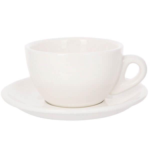 Кофейная Пара Белого Цвета Для Латте/Каппучино 320мл