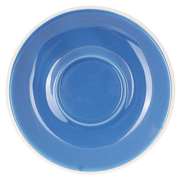 Набор из 5 кофейных пар Tiamo синего цвета для латте/каппучино 180мл HG0854B