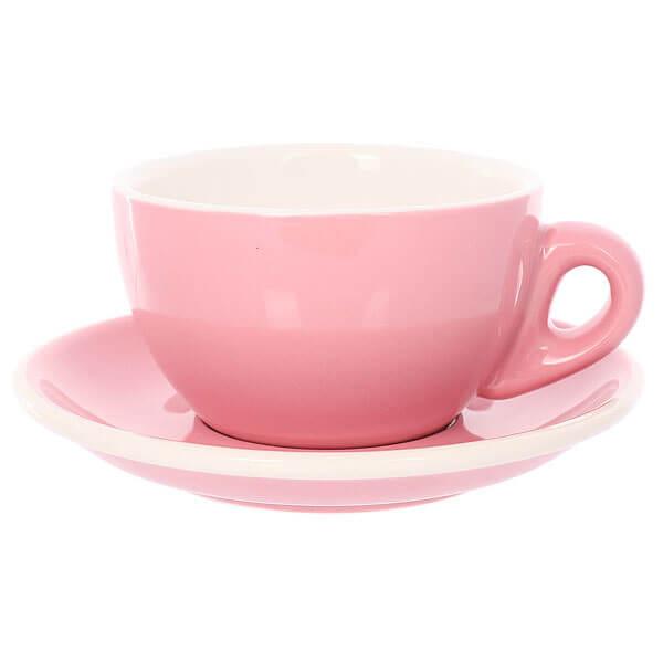 Набор из 5 кофейных пар Tiamo розового цвета для эспрессо 80мл HG0858PK