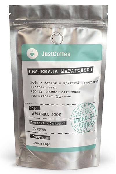 """Свежеобжаренный кофе """"Гватемала Марагоджип"""""""