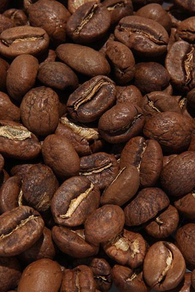 """Вид зерен Кофе """"Колумбия Инза"""""""