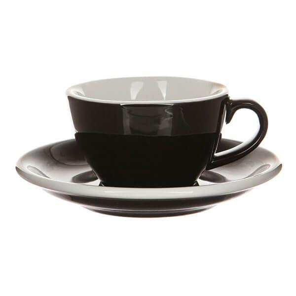 Кофейная пара Loveramics (Лаврамикс) Egg 150ml черная