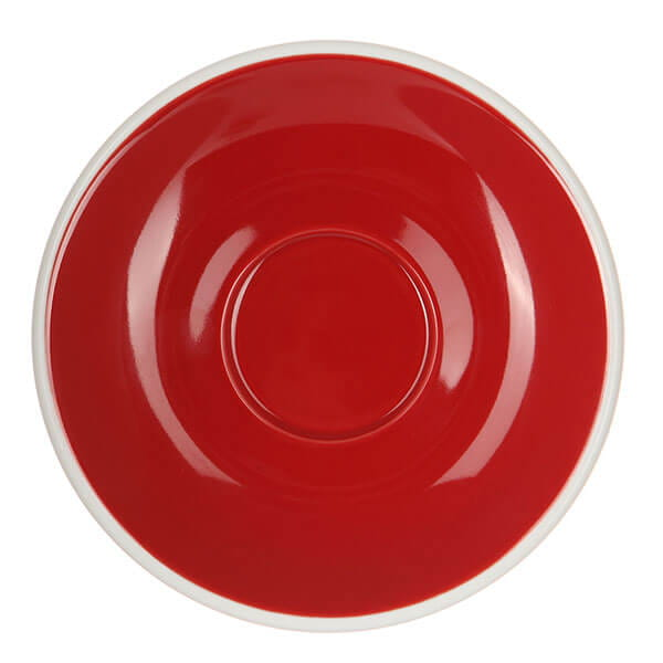 Кофейная пара Loveramics (Лаврамикс) Egg 150ml красная