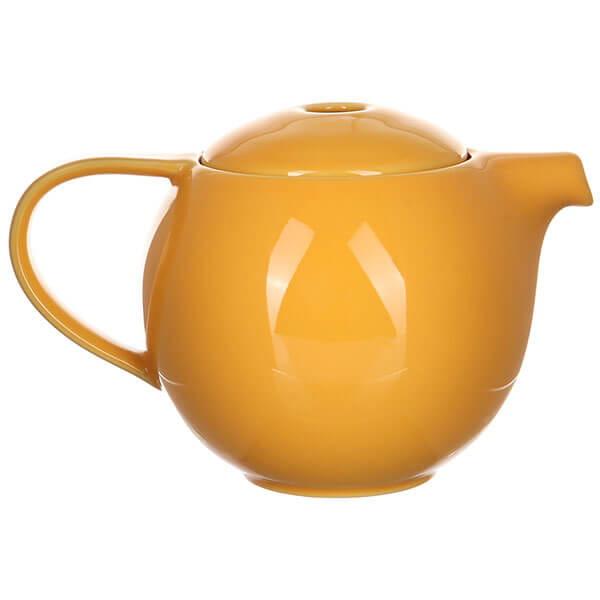 Чайник Loveramics (Лаврамикс) с ситечком 600ml желтый