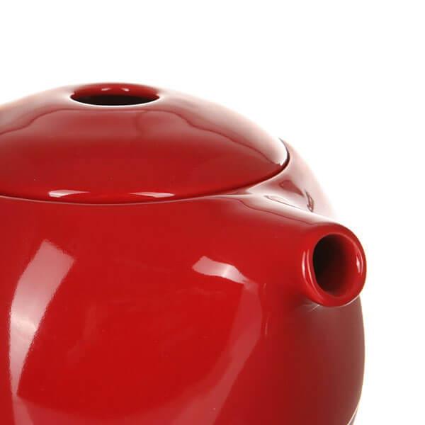 Чайник  Loveramics (Лаврамикс) с ситечком 600ml красный