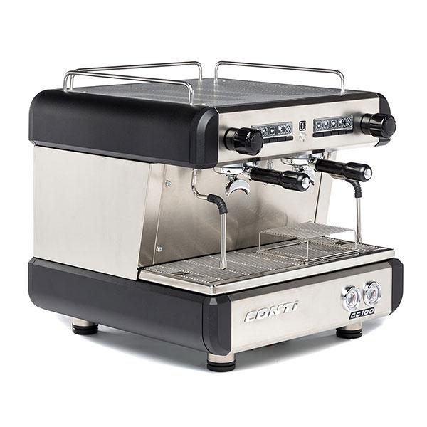 Кофемашина Conti CC100 Compact TC 2 группы черный