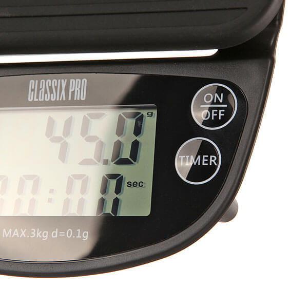 Classix Pro Весы с таймером черные