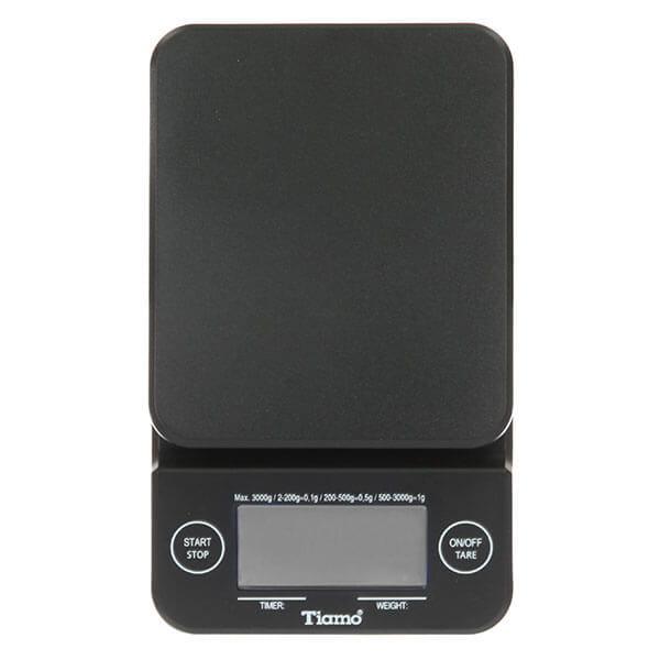 Весы электронные черные Tiamo HK0513BK-1