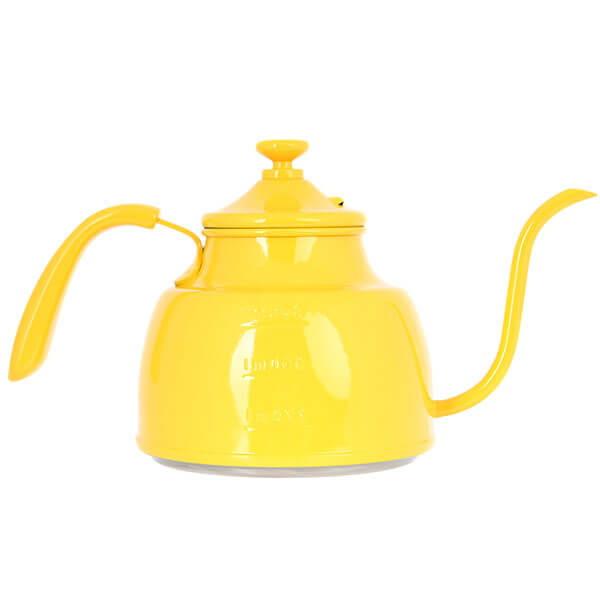 Чайник стальной желтый Tiamo HA1604YL 1 литр