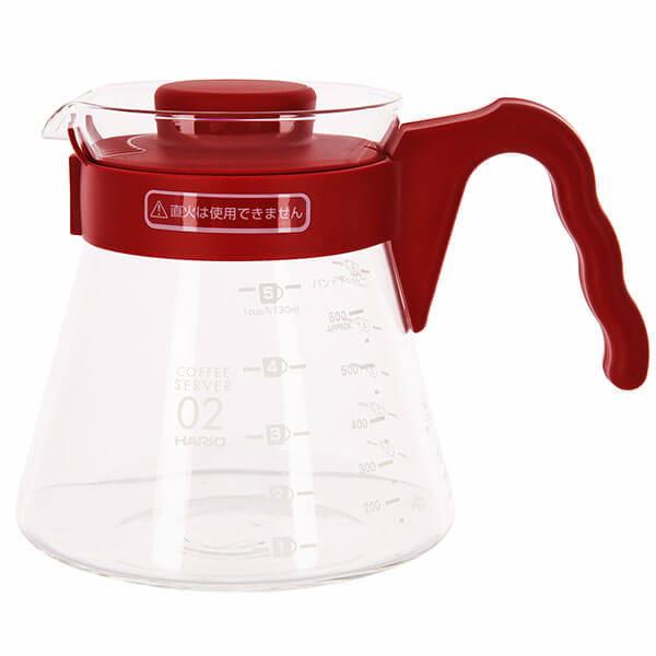 Чайник HARIO VCSD-02R Красный