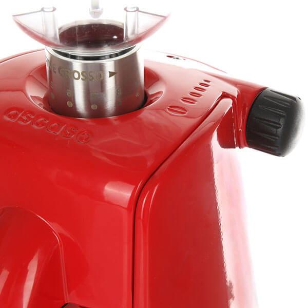 Кофемолка Ascaso iMINI i1, красная
