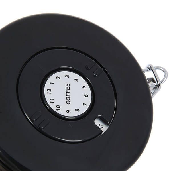 Банка Classix Pro с крышкой стальная 1500 мл., серая