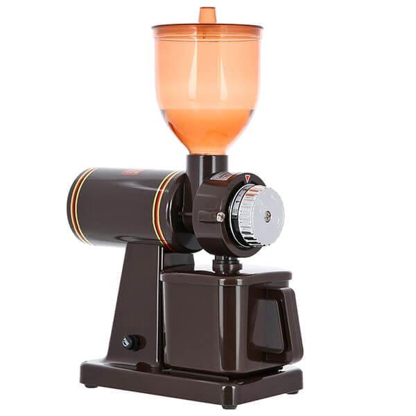 Кофемолка Tiamo жерновая электрическая кофемолка hg0426BW 610 S.S., коричневая