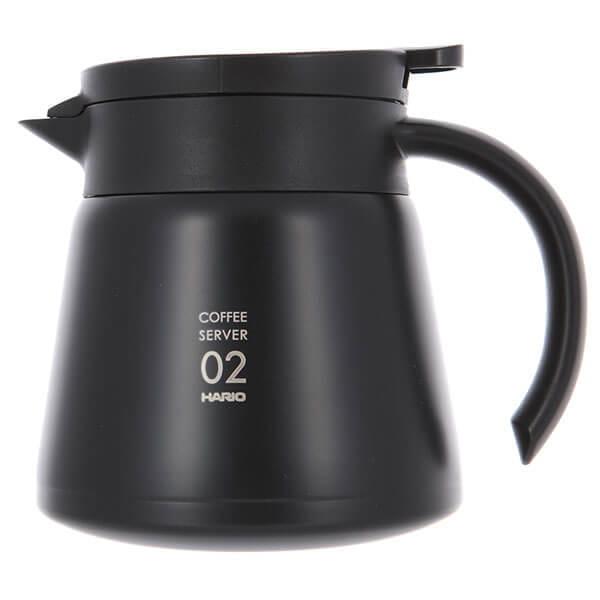 Чайник сервировочный стальной HARIO черный 600мл VHS-60B