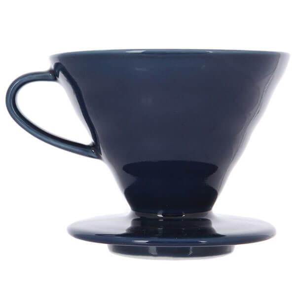 Воронка керамическая для приготовления кофе HARIO 3VDC-02-IBU-UEX, индиго