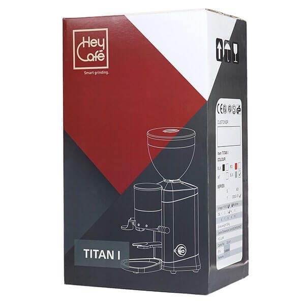 Кофемолка HEYCAFE TITAN I ODG, серебро