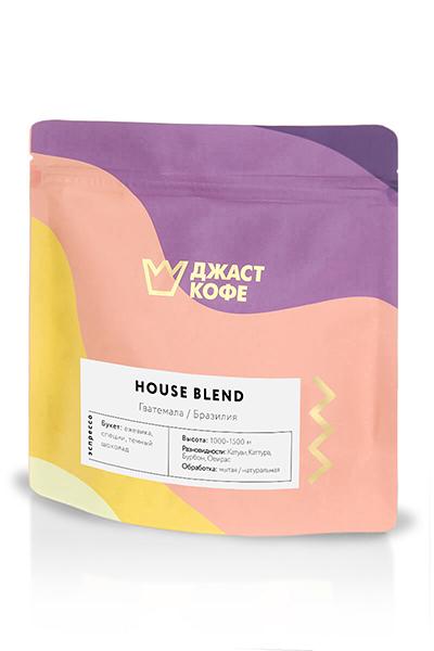 """Свежеобжаренный кофе """"House Blend"""""""