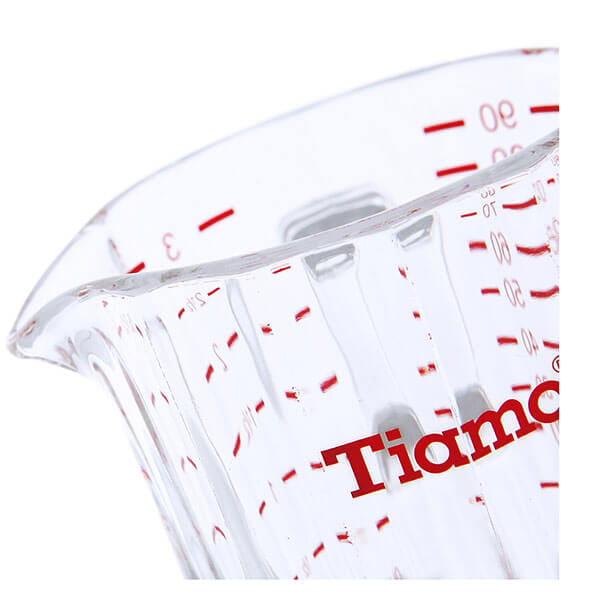 Стакан мерный Tiamo HG1762R, стекло