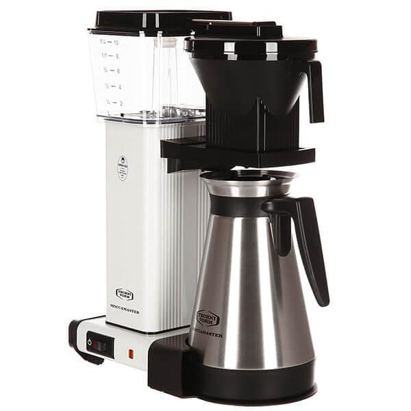 Кофеварка Moccamaster KBGT, белый