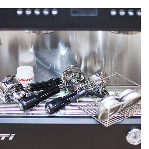 Кофемашина Conti CС200 С Дисплеем 2 Группы Черный