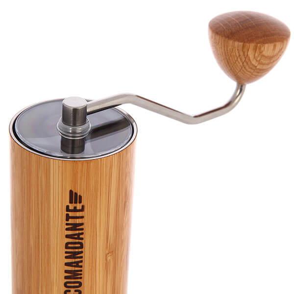 Comandante ручная кофемолка C40 NITRO BLADE Bamboo