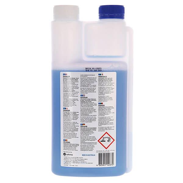 Cafetto MFC Blue средство для чистки капучинаторов и питчеров 1л