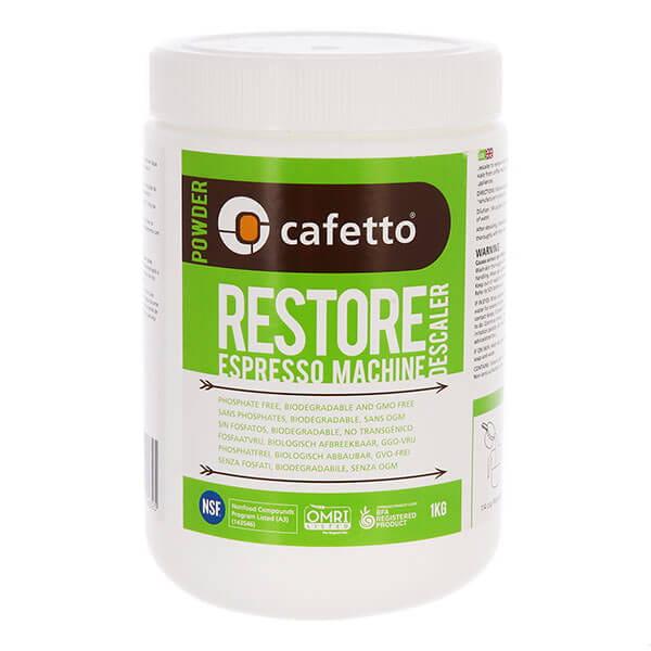 Cafetto Restore Descaler средство для декальцинации порошок 1кг