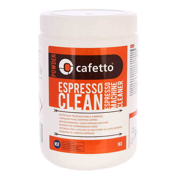 Cafetto Espresso Clean  Powder средство для чистки кофемашин  1кг