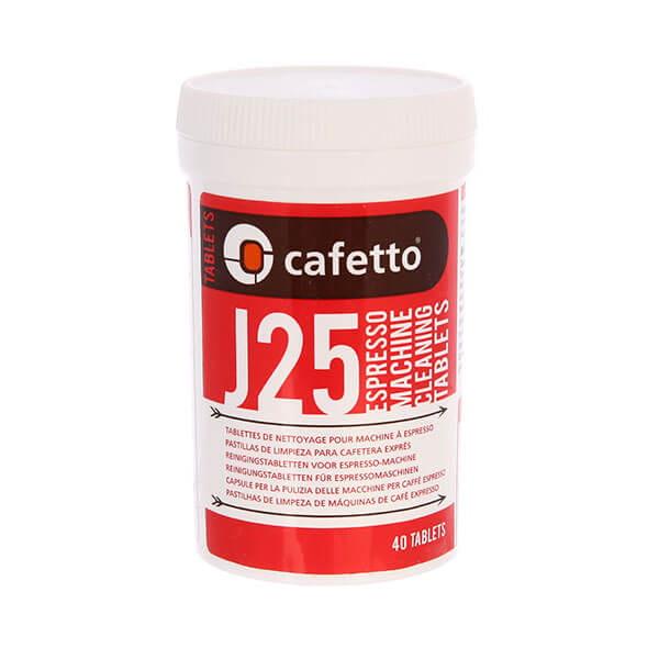 Cafetto J25 Tablets средство для чистки автоматических кофемашин (2,5*40 таб)