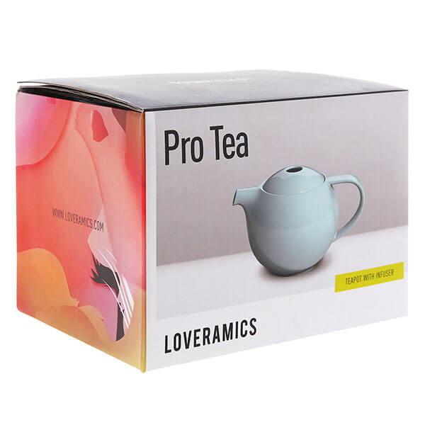 Чайник Loveramics с ситечком Pro Tea Teapot With Infuser 600ml Blue River, нежно - голубой