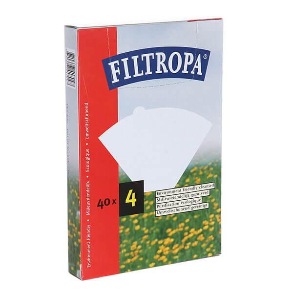 Filtropa фильтры для кофеварок белые 04/40