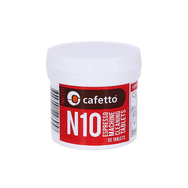 Cafetto N10 Tablets средство для чистки автоматических кофемашин (1*50 таб)