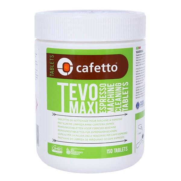 Cafetto TEVO Maxi  Tablets средство для чистки кофемашин (2,5*150 таб)