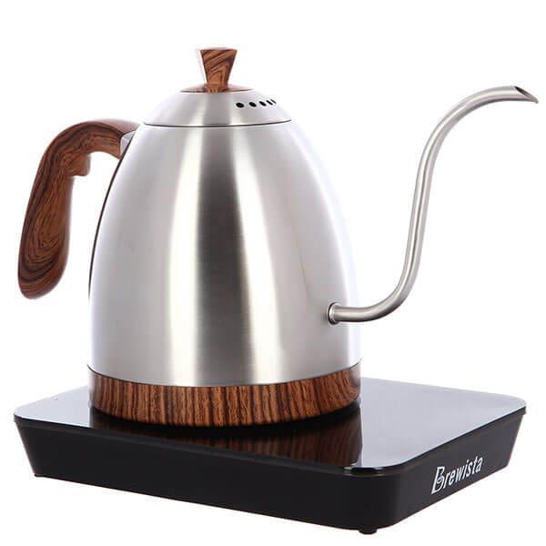 Чайник Brewista Стальной Электрический Artisan Gooseneck 900ml Стальной
